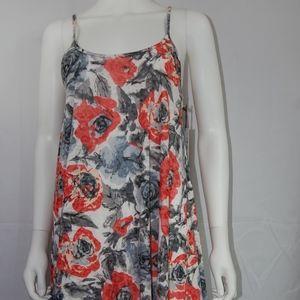 NWT Sugarlips Floral Midi Dress Sz S